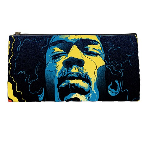 Gabz Jimi Hendrix Voodoo Child Poster Release From Dark Hall Mansion Pencil Cases