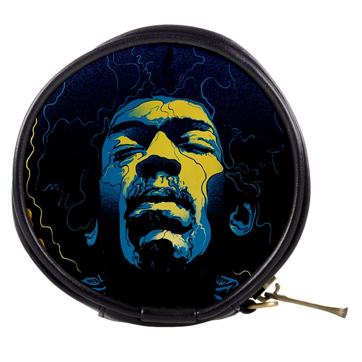 Gabz Jimi Hendrix Voodoo Child Poster Release From Dark Hall Mansion Mini Makeup Bags