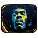Gabz Jimi Hendrix Voodoo Child Poster Release From Dark Hall Mansion Netbook Case (XL)  Front