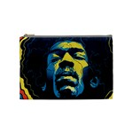 Gabz Jimi Hendrix Voodoo Child Poster Release From Dark Hall Mansion Cosmetic Bag (Medium)  Front