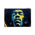Gabz Jimi Hendrix Voodoo Child Poster Release From Dark Hall Mansion Cosmetic Bag (Large)  Back