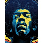 Gabz Jimi Hendrix Voodoo Child Poster Release From Dark Hall Mansion Large Memo Pads 4.125 x5.5  Memopad