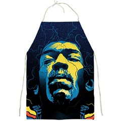 Gabz Jimi Hendrix Voodoo Child Poster Release From Dark Hall Mansion Full Print Aprons