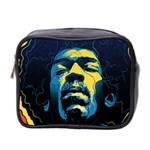 Gabz Jimi Hendrix Voodoo Child Poster Release From Dark Hall Mansion Mini Toiletries Bag 2-Side Front