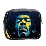 Gabz Jimi Hendrix Voodoo Child Poster Release From Dark Hall Mansion Mini Toiletries Bag 2-Side Back