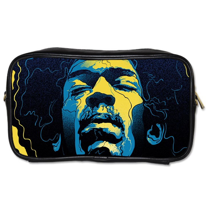 Gabz Jimi Hendrix Voodoo Child Poster Release From Dark Hall Mansion Toiletries Bags 2-Side