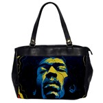 Gabz Jimi Hendrix Voodoo Child Poster Release From Dark Hall Mansion Office Handbags Front