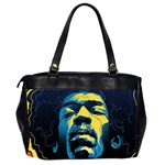 Gabz Jimi Hendrix Voodoo Child Poster Release From Dark Hall Mansion Office Handbags (2 Sides)  Back