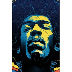 Gabz Jimi Hendrix Voodoo Child Poster Release From Dark Hall Mansion 5.5  x 8.5  Notebooks