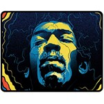 Gabz Jimi Hendrix Voodoo Child Poster Release From Dark Hall Mansion Fleece Blanket (Medium)  60 x50 Blanket Front