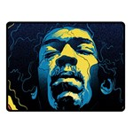 Gabz Jimi Hendrix Voodoo Child Poster Release From Dark Hall Mansion Fleece Blanket (Small) 50 x40 Blanket Front