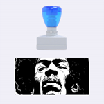 Gabz Jimi Hendrix Voodoo Child Poster Release From Dark Hall Mansion Rubber Stamps (Medium)  1.34 x0.71  Stamp