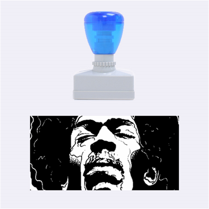 Gabz Jimi Hendrix Voodoo Child Poster Release From Dark Hall Mansion Rubber Stamps (Medium)