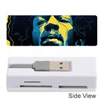 Gabz Jimi Hendrix Voodoo Child Poster Release From Dark Hall Mansion Memory Card Reader (Stick)  Front