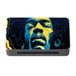 Gabz Jimi Hendrix Voodoo Child Poster Release From Dark Hall Mansion Memory Card Reader with CF Front