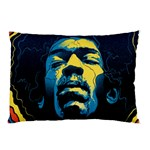 Gabz Jimi Hendrix Voodoo Child Poster Release From Dark Hall Mansion Pillow Case (Two Sides) Front