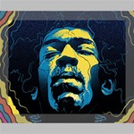 Gabz Jimi Hendrix Voodoo Child Poster Release From Dark Hall Mansion Deluxe Canvas 20  x 16   20  x 16  x 1.5  Stretched Canvas