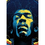 Gabz Jimi Hendrix Voodoo Child Poster Release From Dark Hall Mansion Circle 3D Greeting Card (7x5) Inside