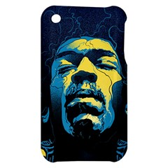 Gabz Jimi Hendrix Voodoo Child Poster Release From Dark Hall Mansion Apple iPhone 3G/3GS Hardshell Case