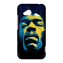 Gabz Jimi Hendrix Voodoo Child Poster Release From Dark Hall Mansion HTC Droid Incredible 4G LTE Hardshell Case