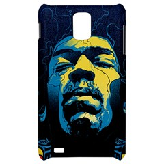 Gabz Jimi Hendrix Voodoo Child Poster Release From Dark Hall Mansion Samsung Infuse 4G Hardshell Case