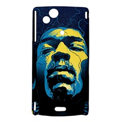 Gabz Jimi Hendrix Voodoo Child Poster Release From Dark Hall Mansion Sony Xperia Arc