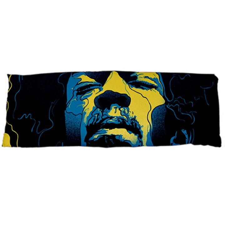 Gabz Jimi Hendrix Voodoo Child Poster Release From Dark Hall Mansion Body Pillow Case Dakimakura (Two Sides)