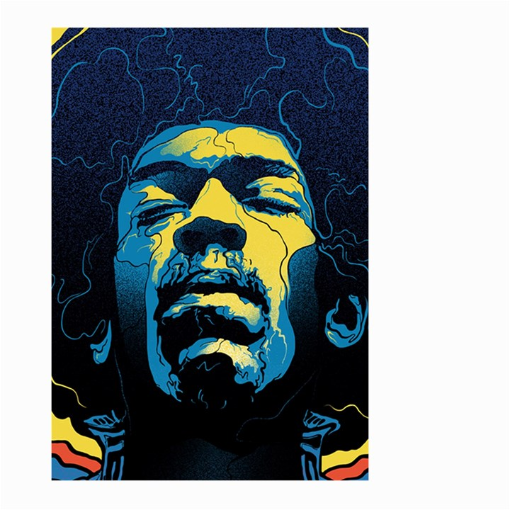 Gabz Jimi Hendrix Voodoo Child Poster Release From Dark Hall Mansion Large Garden Flag (Two Sides)