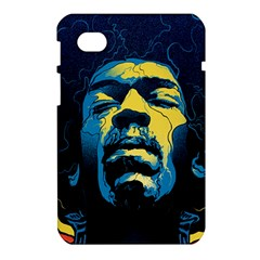 Gabz Jimi Hendrix Voodoo Child Poster Release From Dark Hall Mansion Samsung Galaxy Tab 7  P1000 Hardshell Case