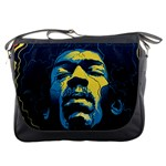 Gabz Jimi Hendrix Voodoo Child Poster Release From Dark Hall Mansion Messenger Bags Front