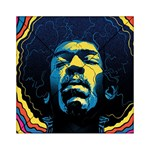 Gabz Jimi Hendrix Voodoo Child Poster Release From Dark Hall Mansion Acrylic Tangram Puzzle (6  x 6 ) Front