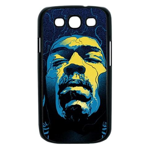 Gabz Jimi Hendrix Voodoo Child Poster Release From Dark Hall Mansion Samsung Galaxy S III Case (Black)