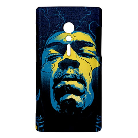 Gabz Jimi Hendrix Voodoo Child Poster Release From Dark Hall Mansion Sony Xperia ion