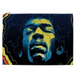 Gabz Jimi Hendrix Voodoo Child Poster Release From Dark Hall Mansion Cosmetic Bag (XXL)  Front