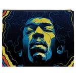 Gabz Jimi Hendrix Voodoo Child Poster Release From Dark Hall Mansion Cosmetic Bag (XXXL)  Back