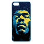 Gabz Jimi Hendrix Voodoo Child Poster Release From Dark Hall Mansion Apple Seamless iPhone 5 Case (Color) Front