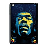 Gabz Jimi Hendrix Voodoo Child Poster Release From Dark Hall Mansion Apple iPad Mini Case (Black) Front