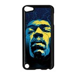 Gabz Jimi Hendrix Voodoo Child Poster Release From Dark Hall Mansion Apple iPod Touch 5 Case (Black) Front