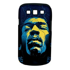 Gabz Jimi Hendrix Voodoo Child Poster Release From Dark Hall Mansion Samsung Galaxy S III Classic Hardshell Case (PC+Silicone)