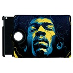 Gabz Jimi Hendrix Voodoo Child Poster Release From Dark Hall Mansion Apple iPad 2 Flip 360 Case Front