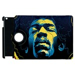 Gabz Jimi Hendrix Voodoo Child Poster Release From Dark Hall Mansion Apple iPad 3/4 Flip 360 Case Front