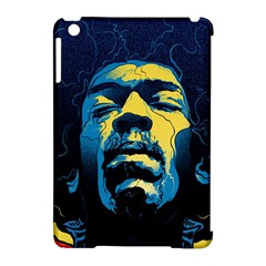 Gabz Jimi Hendrix Voodoo Child Poster Release From Dark Hall Mansion Apple iPad Mini Hardshell Case (Compatible with Smart Cover)