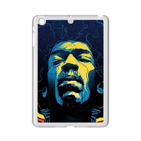 Gabz Jimi Hendrix Voodoo Child Poster Release From Dark Hall Mansion iPad Mini 2 Enamel Coated Cases