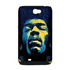 Gabz Jimi Hendrix Voodoo Child Poster Release From Dark Hall Mansion Samsung Galaxy Note 2 Hardshell Case (PC+Silicone)