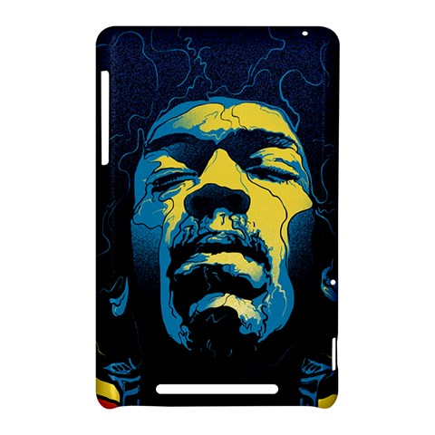 Gabz Jimi Hendrix Voodoo Child Poster Release From Dark Hall Mansion Nexus 7 (2012)