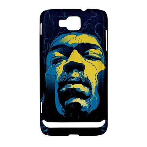 Gabz Jimi Hendrix Voodoo Child Poster Release From Dark Hall Mansion Samsung Ativ S i8750 Hardshell Case