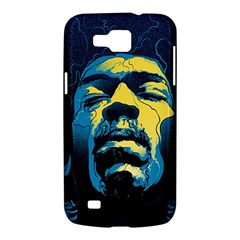 Gabz Jimi Hendrix Voodoo Child Poster Release From Dark Hall Mansion Samsung Galaxy Premier I9260 Hardshell Case