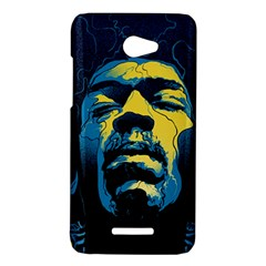 Gabz Jimi Hendrix Voodoo Child Poster Release From Dark Hall Mansion HTC Butterfly X920E Hardshell Case