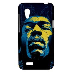 Gabz Jimi Hendrix Voodoo Child Poster Release From Dark Hall Mansion HTC Desire VT (T328T) Hardshell Case