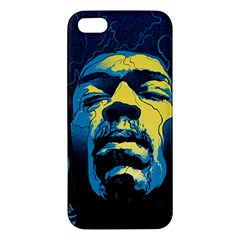 Gabz Jimi Hendrix Voodoo Child Poster Release From Dark Hall Mansion Apple Iphone 5 Premium Hardshell Case